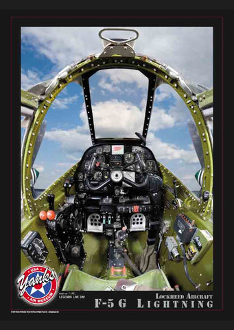 Yanks Aircraft Cockpit Poster