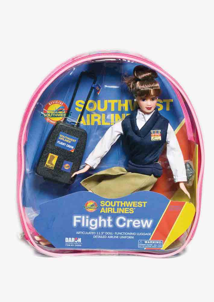 Flight Attendant Backpack Playset