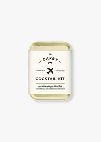 Carry On Cocktail kit (Champagne Cocktail)
