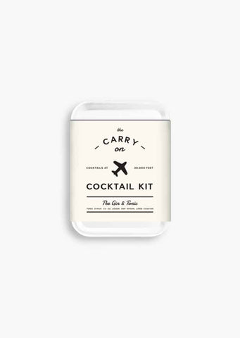 Carry On Cocktail kit (Gin & Tonic)