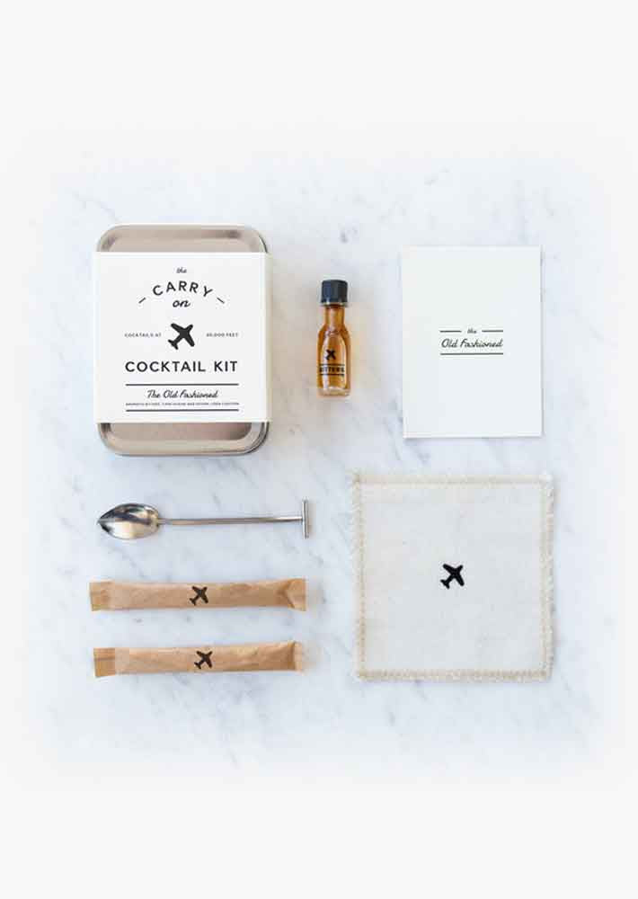 Carry On Cocktail kit (Old Fashioned)