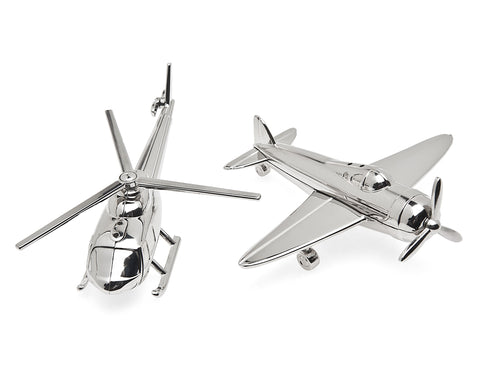 Airplane/Chopper Salt & Pepper Shaker