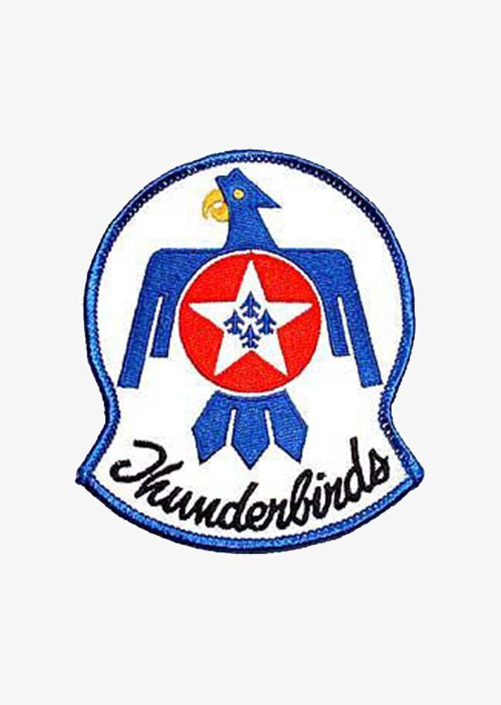 Thunderbirds Logo Patch