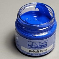 Genesis Heat Set Paint - Cobalt Blue - 1oz