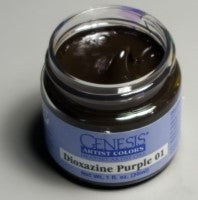 Genesis Heat Set Paint - Dioxazine Purple 01 - 1oz