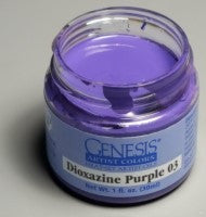 Genesis Heat-Set Paint - Dioxazine Purple 03 - 1oz