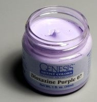 Genesis Heat-Set Paint - Dioxazine Purple 07 - 1oz