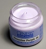 Genesis Heat-Set Paint - Dioxazine Purple 08 - 1oz