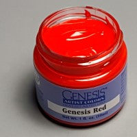 Genesis Heat-Set Paint - Genesis Red - 1oz