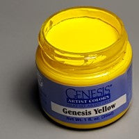 Genesis Heat-Set Paint - Genesis Yellow - 1oz