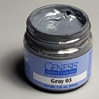 Genesis Heat-Set Paint - Gray 03 - 1oz