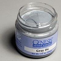 Genesis Heat-Set Paint - Gray 04 - 1oz
