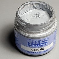 Genesis Heat-Set Paint - Gray 06 - 1oz