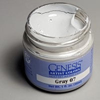 Genesis Heat-Set Paint - Gray 07 - 1oz