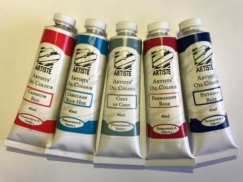ARTISTE OIL PAINT 40ml