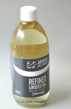 Artiste Mediums - Linseed Oil 500ml