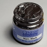 Genesis Heat-Set Paint - Mars Black - 1oz