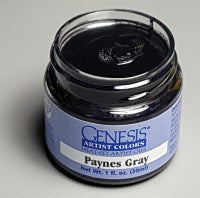 Genesis Heat-Set Paint - Paynes Gray - 1oz