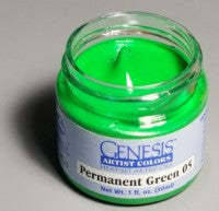 Genesis Heat-Set Paint - Permanent Green 05 - 1oz