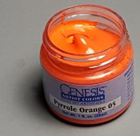 Genesis Heat-Set Paint - Pyrrole Orange 05 - 1oz