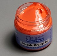 Genesis Heat-Set Paint - Pyrrole Orange 06 - 1oz