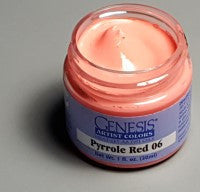 Genesis Heat-Set Paint - Pyrrole Red 06 - 1oz