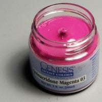Genesis Heat-Set Paint - Quinacridone Magenta 03 - 1oz