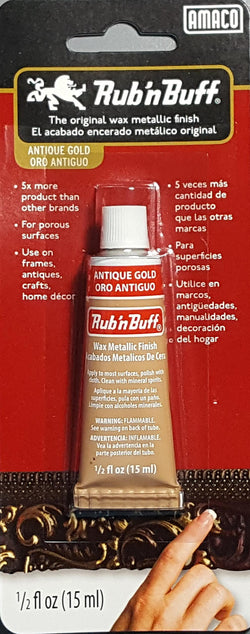 AMACO - Rub 'n Buff - Antique Gold - 1/2oz