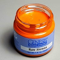 Genesis Heat-Set Paint - Raw Sienna - 1oz