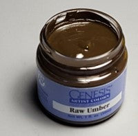 Genesis Heat-Set Paint - Raw Umber - 1oz