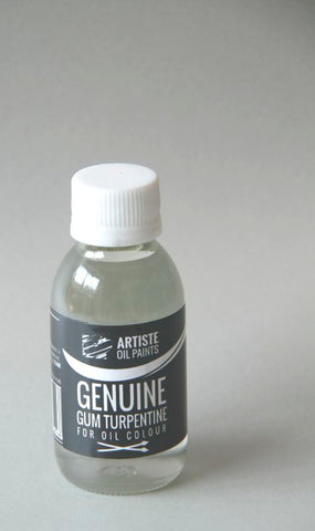 Artiste Mediums - Genuine Gum Turpentine 100ml