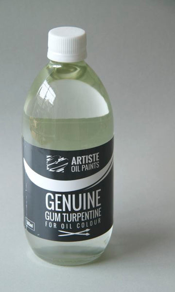 Artiste Mediums - Genuine Gum Turpentine 500ml