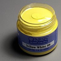 Genesis Heat-Set Paint - Yellow White 08 - 1oz