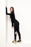 NEW COLLECTION SUPER FIT leggings in black