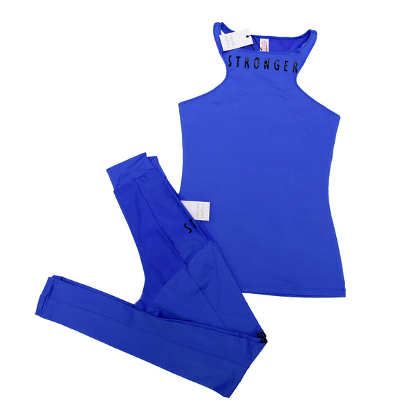 SANTORINI TOP  Active Wear BLUE