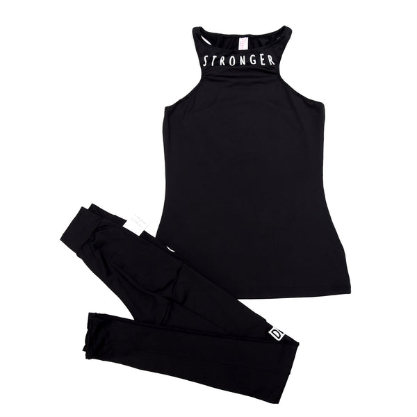 SANTORINI TOP  Active Wear Black