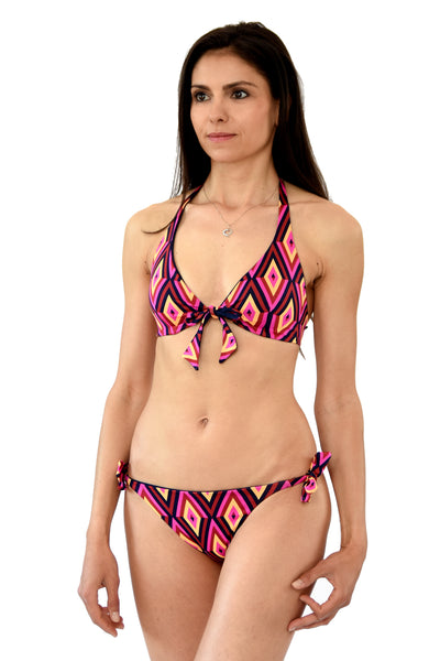 KIRIBATI reversable triangle top in TRIBE collection