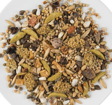 Bird Seeds Fruits Nuts Mix