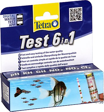 TETRA Test Strip (6-In-1)