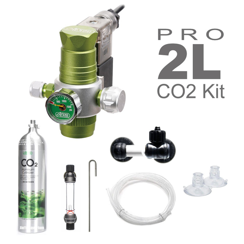 GCS ISTA CO2 Professional Kit (2L / Aluminium Tank)