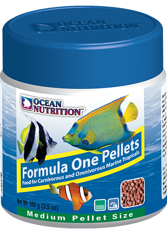 OCEAN NUTRITION Formula One Pellets (Medium / 100g)