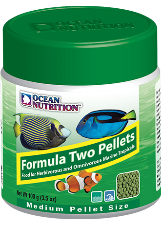OCEAN NUTRITION Formula Two Pellets (Medium / 100g)