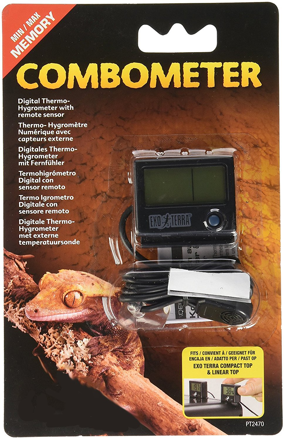 EXOTERRA Combometer (Digital Thermometer & Hygrometer)