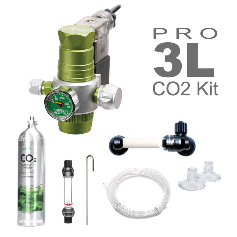 GCS ISTA CO2 Professional Kit (3L / Aluminium Tank)