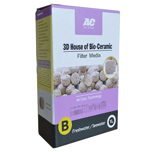 ALL CLEAN 3D House Bio-Ceramic Ball (1L)