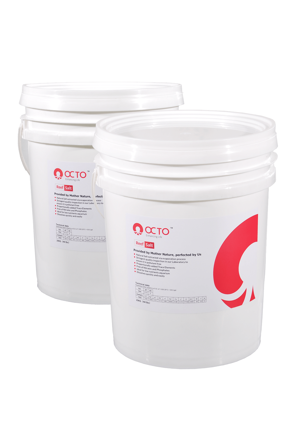 OCTO Marine Reef Salt (20kg / Bucket)