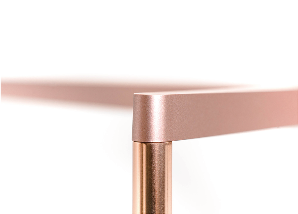 ONF FLAT Nano Stand (Rose Gold / For 30-36cm Tank)