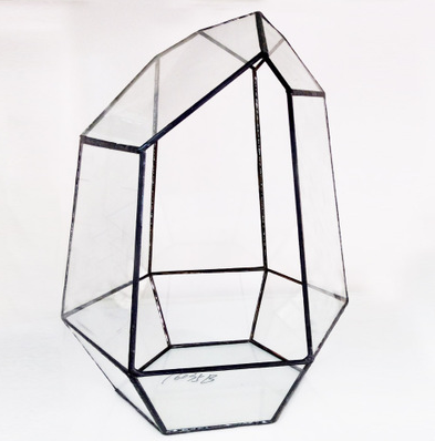 TERRA POTS Geometric Terrarium #10Z (28cmH / HexTower XL no Door)