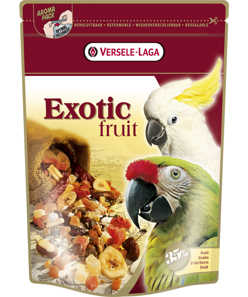 VERSELE-LAGA EXOTIC FRUITS - FruitMix for Parrots Expert (600g)