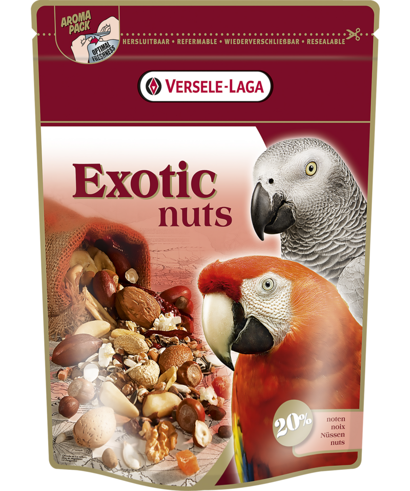 VERSELE-LAGA EXOTIC NUTS - NutMix for Parrots Expert (750g)
